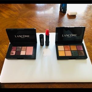 2 Lancôme eyeshadow blush sets and matte lipstick